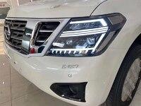 Фары Nissan Patrol Y62 (патрол 2010-2018) VK56VD