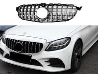 Решетка радиатора GT style для Mercedes C-Class 205 2018, 2019+