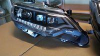 Тюнинг оптика - фары на Toyota Camry V50/55 2015 Mercedes style (дизайн Мерседес)