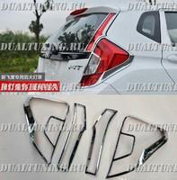 Хром накладки на стопы Honda Fit GK 2013+