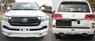 Обвес с ДХО Modellista NEON для Toyota Land Cruiser 200 2016+ (двойной выхлоп)