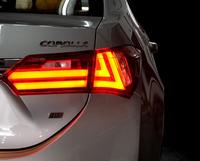 Стопы тюнинг Toyota Corolla 2012-2015 E180 (дымчатые) стиль Lexus