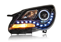 Фары тюнинг линза диодные VolksWagen Bora 2008-2012