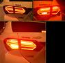 Стопы тюнинг Toyota Corolla 2012-2015 E180 (дымчатые) стиль Mercedes