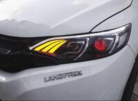 """Фары Honda Fit 2013+ """"Mercedes style"""""""