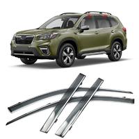 Ветровики - дефлекторы окон комплект Subaru Forester SK (Форестер) 2018, 2019, 2020