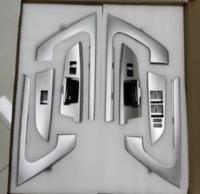 Накладки в салон на ручки дверей Toyota Land Cruiser 200 дизайн 2016
