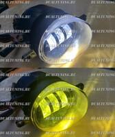 Туманки LED белый + желтый свет Toyota / Lexus