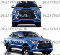 Рестайлинг обвес TRD на Toyota Hilux 2011-2015