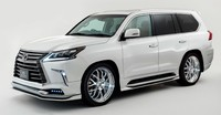 "Накладки на пороги ""Elford"" Lexus LX570 / 450d 2016+"