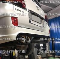 Насадки выхлопной системы и на глушитель Toyota Land Cruiser 200 / Lexus LX570