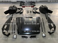 Обвес рестайлинг для Mercedes W463 в W464 2018+ (+капот, крылья)