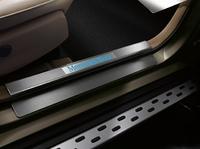 Пороги OEM Style (штатные) на Mercedes GLK-class