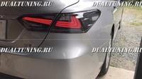 Стопы дизайн Lexus для Toyota Camry V70 дымчатые