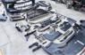 Рестайлинг GBT с крыльями и дверью + обвес TRD Lexus LX570 из 2007-2014 в 2015-2018