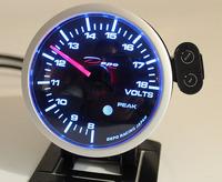 Датчик DEPO 60мм volt (вольтметр) с варнингами и пиками
