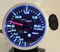 Датчик DEPO 60мм boost (давление турбины) с варнингами и пиками