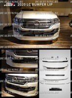 Обвес GBT тюнинг Toyota Land Cruiser 200 2016+ (+ спойлер)