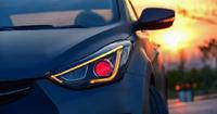 Оптика тюнинг (фары) на Hyundai Elantra / Avante MD