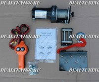 Лебедка электрическая 12V / 24V Electric Winch 2000lbs (907кг)