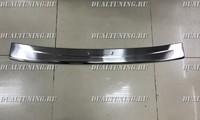 Накладка на задний бампер Prius Alpha (метал)