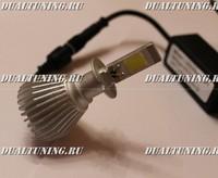 Светодиодные лампочки H3 6000k (2200lum)