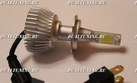 Светодиодные лампочки H7 6000k (2200lum)