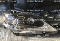 Фары Lexus RX270/RX350/RX450h 2012-2015 (рестайлинг) мигающий поворотник
