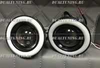 Туманки WALD style диодные + кольцо 76мм (универсальные) #2