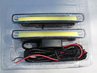 Ходовые огни DRL светодиодные DC12V/24V плоские #2