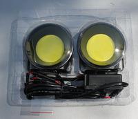 Ходовые огни DRL светодиодные DC12V/24V круглые