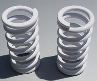 Пружины койловера 180мм, диаметр внутренний 66мм, жесткость 4кг (пара)