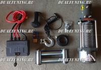 Лебедка электрическая 12V / 24V  RunningMan 9500lbs / 4310 кг