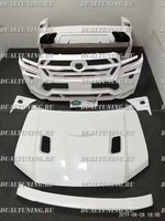 "Тюнинг обвес - комплект ""KHANN HRS Sport"" Toyota Land Cruiser 200 2016+ (FRP)"