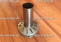 Сайленсер с регулировкой - (флейта) заглушка в глушитель 98мм