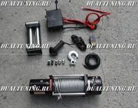Лебедка электрическая 12V / 24V  Electric Winch 12000lbs / 5443 кг