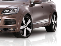 Фендера - расширители колесных арок Je Design на Volkswagen Touareg 2