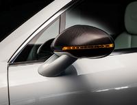 Карбоновые накладки на зеркала Techart для Porsche Macan (с поворотниками)