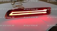 Неоновые катафоты фонари в бампер Suzuki Vitara 2014+ #2