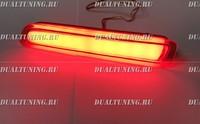 Неоновые катафоты фонари в бампер Suzuki SX4