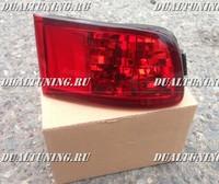 Катафоты (дополнительные стопы) Toyota Land Cruiser Prado 120 / Surf 215 красные