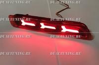 Неоновые катафоты фонари в бампер Suzuki SX4 #3
