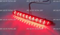 Катафоты фонари в бампер LED Toyota красные темные