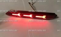 Катафоты фонари в бампер LED Toyota стиль Audi