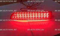 Катафоты фонари в бампер LED Toyota Vanguard 2007-2013