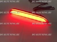 Неоновые катафоты фонари в бампер Nissan X-Trail T32