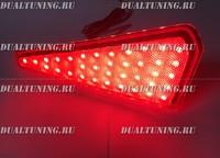Стопы LED фонари в задний бампер - катафоты Toyota Noah 80, Toyota Voxy 80