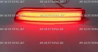 Неоновые катафоты фонари в бампер Toyota Vanguard 2007-2013