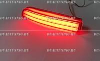 Неоновые катафоты фонари в бампер Toyota Wish 2009+