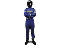 Комбинезон спортивный синий Beltenick RSN-100 размер L